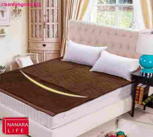 Ga lông cừu màu nâu socola do hãng Nanara nhật bản sản xuất